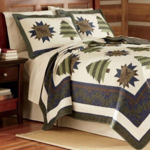 Field & Stream Quilt Bedding Cover Set - Twin Size